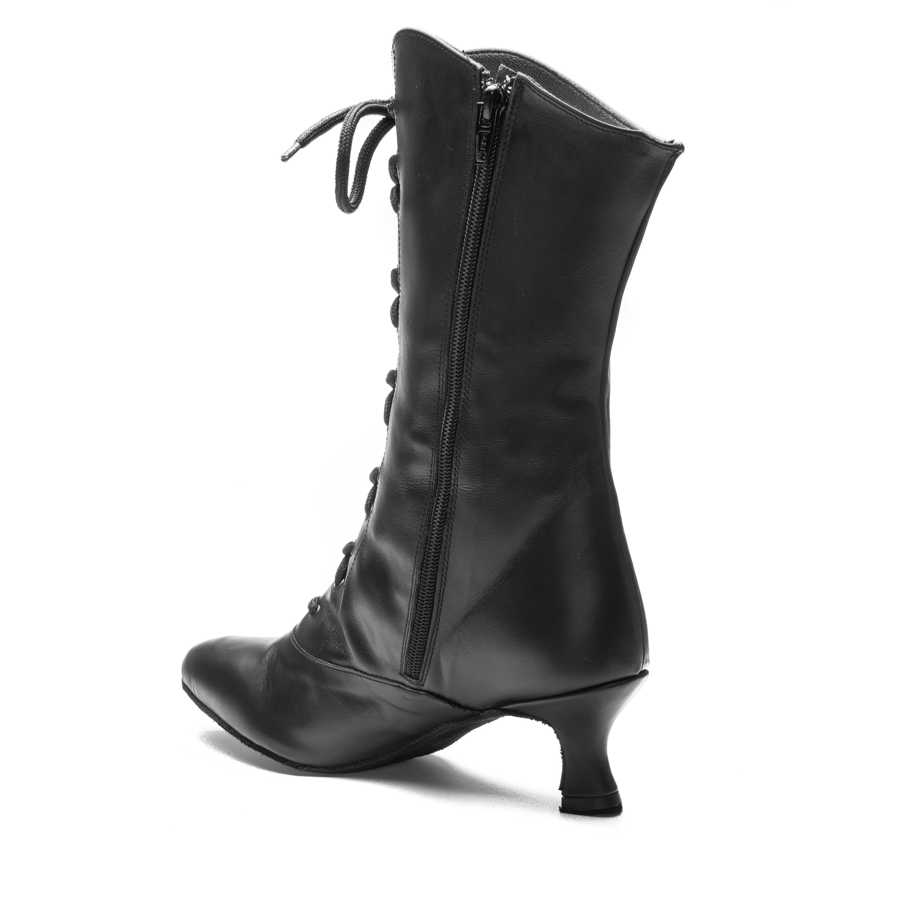 schwarz Stiefel 2316 Folklore Can Can Rumpf BedxQorCW